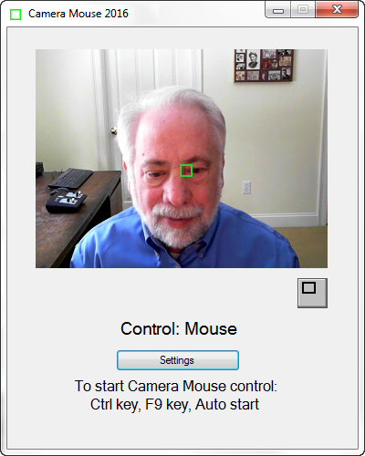 Camera Mouse 2016